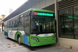 Chủ tịch Nguyễn Đức Chung: 'Nhiều trục đường chính sẽ ưu tiên cho xe buýt'