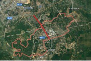 Dọc cao tốc Biên Hoà – Vũng Tàu sẽ có 2 khu đô thị hơn 4.000ha