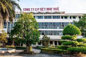 Dệt May Huế (HDM) bị xử phạt vi phạm về thuế