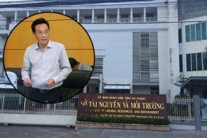 Giám đốc Sở Tài nguyên và Môi trường tỉnh An Giang Trần Đặng Đức bị cảnh cáo