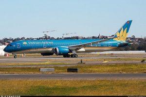 Vấn đề sự kiện Vietnam Airlines xác nhận siêu tàu bay Boeing 787 suýt hạ cánh không có bánh sau