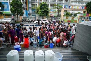 Hà Nội: Kết quả xét nghiệm mẫu nước sông Đà đạt chuẩn