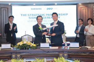 Chủ tịch FLC Trịnh Văn Quyết 'khoe' hợp tác chiến lược toàn diện với Samsung Vina