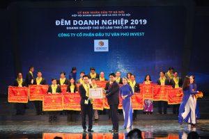 Văn Phú – Invest được tôn vinh tại Đêm doanh nghiệp 2019