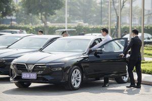 VinFast bàn giao 393 xe VinFast Lux A2.0 và Lux SA2.0 phục vụ ASEAN 2020