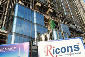 Xây dựng Ricons trả cổ tức năm 2018 bằng tiền, tỷ lệ 50%