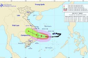Thông tin mới nhất về bão số 6 sẽ đổ bộ vào Nam Trung Bộ trong tối nay