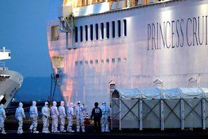 Đã có 174 người dương tính với Covid-19 trên tàu Diamond Princess