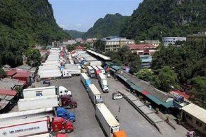 Xuất nhập khẩu thời dịch bệnh: Cửa khẩu Tân Thanh, Cốc Nam vẫn 'đóng băng'