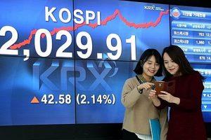 Chứng khoán châu Á ngày 29/4: Đa số các thị trường tăng điểm