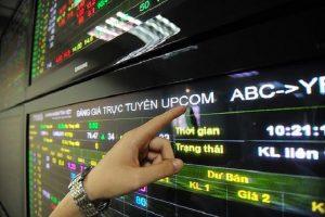 Tháng 5, khối lượng giao dịch trên sàn UPCoM tăng 13%