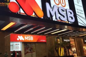 Lợi nhuận 9 tháng của MSB vượt kế hoạch cả năm