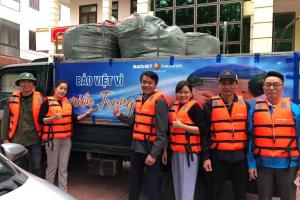 Bảo Việt ủng hộ gần 3 tỷ đồng hỗ trợ các tỉnh miền Trung bị bão lũ