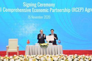 Tuyên bố chung của các nhà lãnh đạo về Hiệp định RCEP