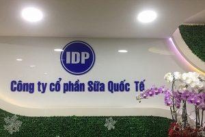 Sữa Quốc tế báo lãi 505 tỷ đồng năm 2020, cổ phiếu IDP gần như không có giao dịch kể từ khi lên sàn
