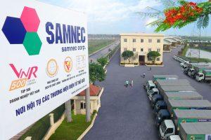 Tập đoàn Samnec – đối tác của Samsung và Sony, lãi 'siêu mỏng', chưa vá xong lỗ lũy kế