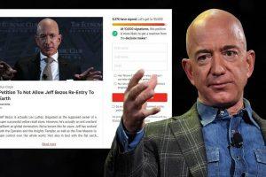 Tỷ phú Jeff Bezos sắp bay vào vũ trụ, hơn 14.000 người kêu gọi đừng quay lại Trái Đất