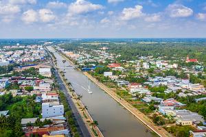 Tập đoàn Sao Mai tài trợ lập quy hoạch ba khu đô thị hơn 450 ha tại Hậu Giang