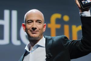 Tài sản của Jeff Bezos lập kỷ lục cao chưa từng thấy