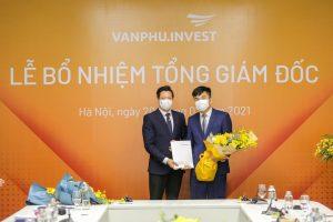 Văn Phú Invest bổ nhiệm Tổng Giám đốc mới