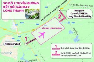 Đồng Nai kiến nghị Chính phủ hỗ trợ 4.130 tỷ làm 2 đường nối sân bay Long Thành