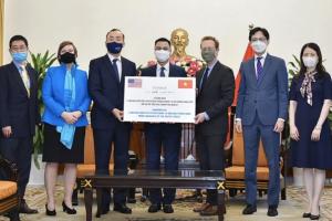 Mỹ là nước tài trợ nhiều vaccine Covid-19 nhất cho Việt Nam với 7,5 triệu liều