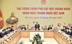 Sếp BRG, T&T Group, FLC, Vingroup… nói gì khi gặp Thủ tướng nhân Ngày Doanh nhân?